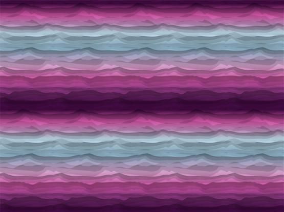 Wavy Stripes by Lycklig pink