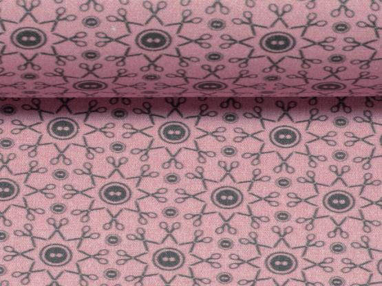 Sew love by lyckling rosa/grau