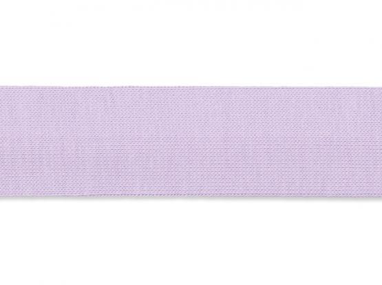 Jerseyband gefalzt 20/40mm flieder