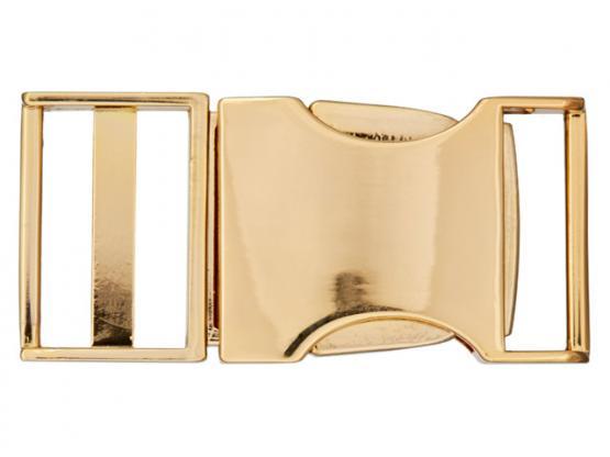 Schliesse 25mm gold