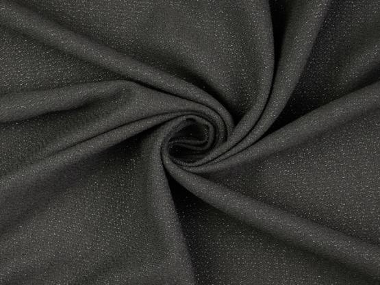 Glanzgewebe schwarz