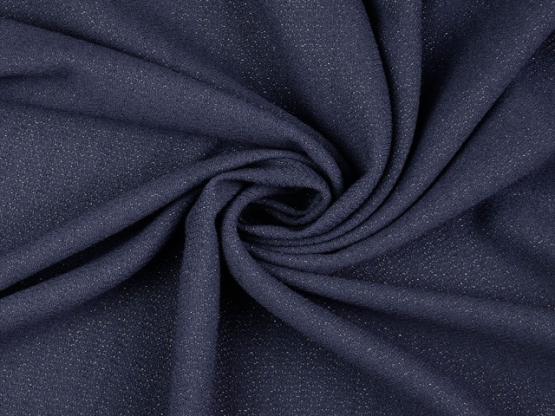 Glanzgewebe blau
