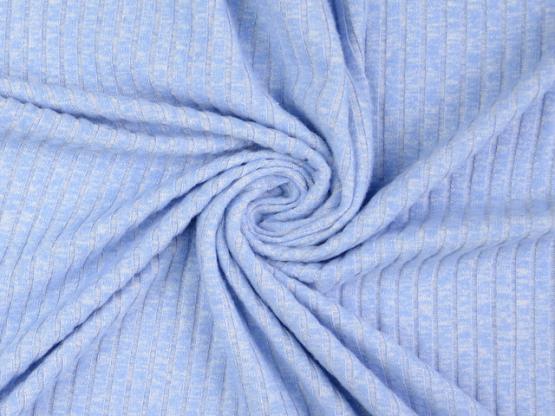 Viskose-Strick hellblau