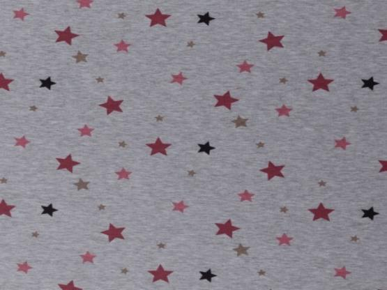 Patrick Alpenfleece Sterne rot