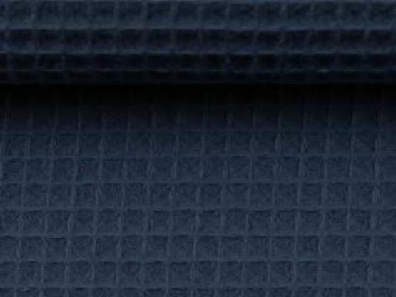 Nelson Waffelpiqué jeansblau