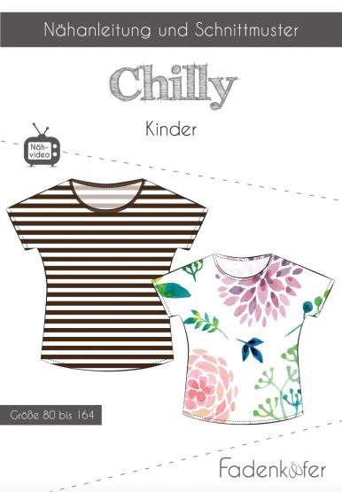 Papierschnittmuster Chilly Kinder