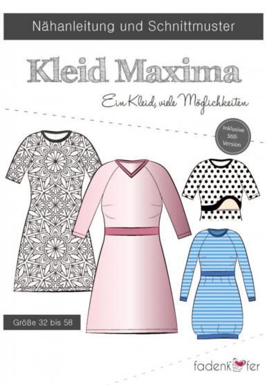 Papierschnittmuster Kleid Maxima