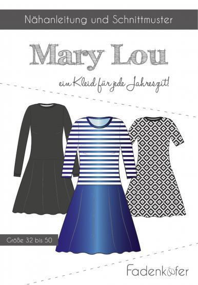 Papierschnittmuster Mary Lou Damen