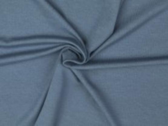 Viskose-Jersey jeansblau