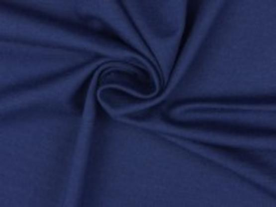 Viskose-Jersey dunkelblau