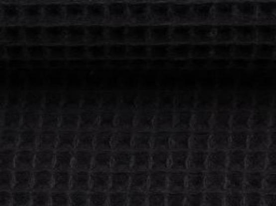 Nelson Waffelpiqué schwarz