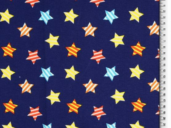 Jersey Sterne blau/bunt