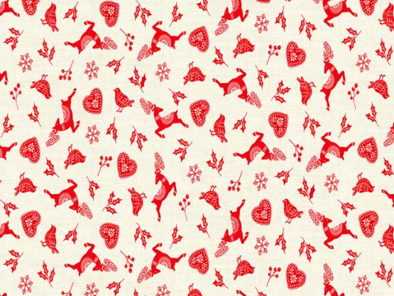 Scandi Icon Scatter red