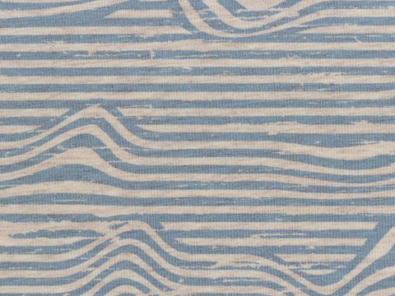 Benno Jersey Streifen hellblau
