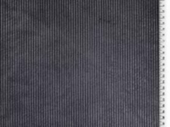 Cord mit Fellrückseite dunkelgrau