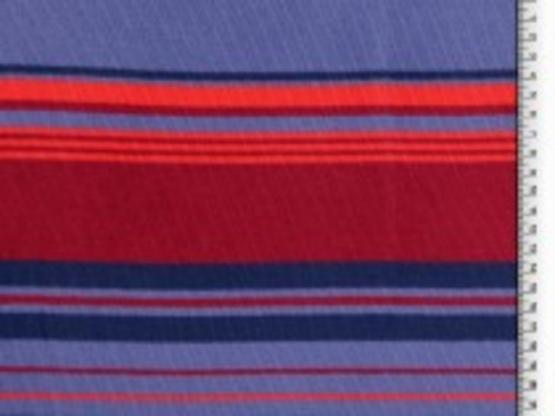 Baumwoll-Strick Streifen