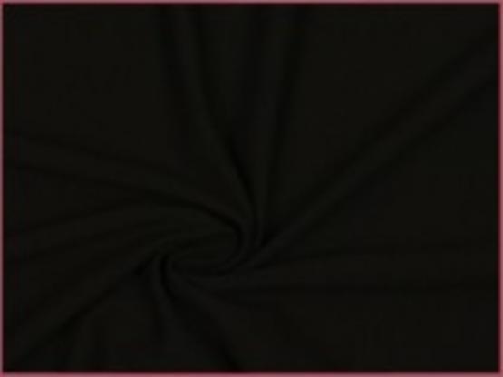 Viskose Jersey schwarz