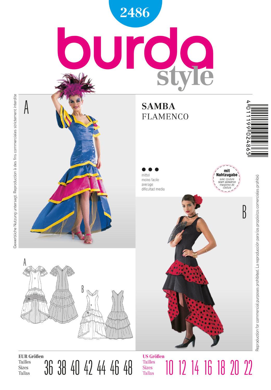 burda samba, flamenco