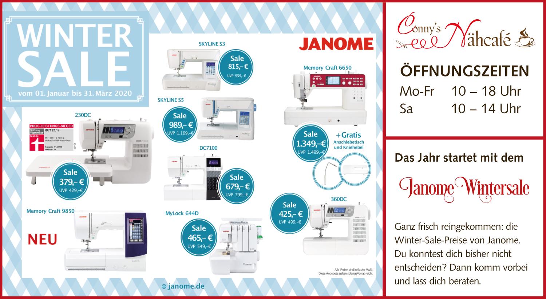 Janome-Aktion